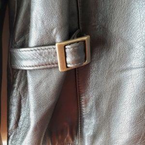 Eddie Bauer Jackets & Coats - Eddie Bauer Dark Brown Leather Jacket